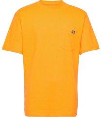 porterdale t-shirts short-sleeved orange dickies
