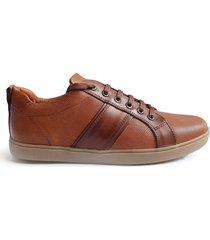 zapatilla marrón blengio jet 68
