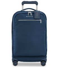 briggs & riley spinner 22-inch carry-on - blue
