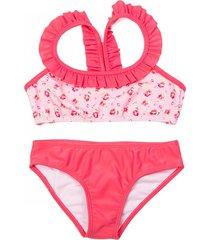 bikini rosa brillantina