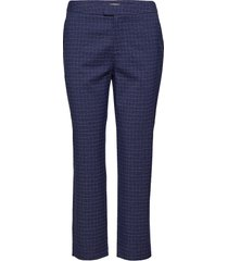 adia pantalon met rechte pijpen blauw custommade