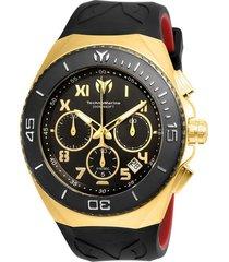reloj negro technomarine tm-215066 - superbrands