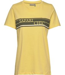 fritorganic 3 t-shirt t-shirts & tops short-sleeved gul fransa