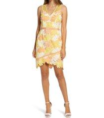 women's adelyn rae jazlyn sleeveless sheath dress