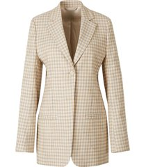 tweed design blazer