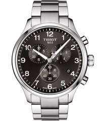 men's tissot chrono xl collection chronograph bracelet watch, 45mm