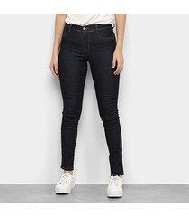 calça jeans skinny sawary hot pants feminina