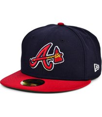 new era atlanta braves cooperstown 59fifty cap