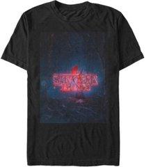 fifth sun men's stranger things 4 poster short sleeve t-shirt