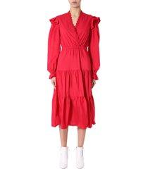 philosophy di lorenzo serafini dress with frills