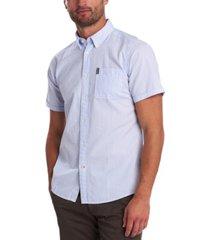 barbour men's seersucker short-sleeve shirt