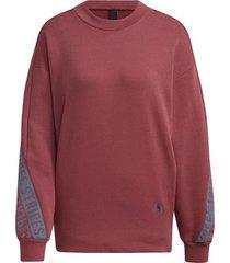 sweater adidas 3-stripes wording sweatshirt