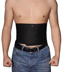 supporto regolabile per uomo elastico in vita alta traspirante sport idoneità body shaper belly cintura