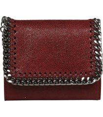 stella mccartney falabella small flat wallet