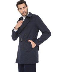 casaco trench coat banana republic water resistant azul-marinho