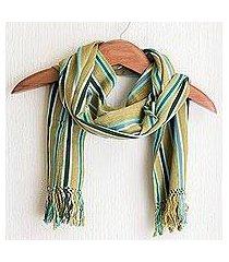 cotton scarf, 'naturally' (guatemala)