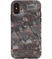 richmond & finch camouflage case for iphone x and xs