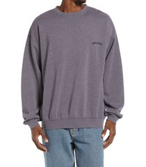 bdg urban outfitters men's crewneck sweatshirt, size x-large in mauve at nordstrom