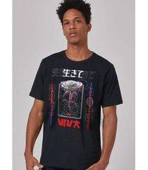 camiseta bandup! luan santana rosa cyber masculina