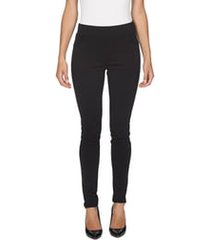 women's cece ponte knit leggings, size large - black
