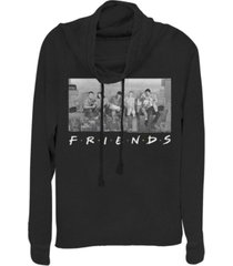 fifth sun friends city skyline group portrait cowl neck juniors pullover fleece