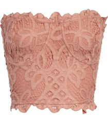 free people intimately fp adella corset bralette, size x-large in ballet at nordstrom