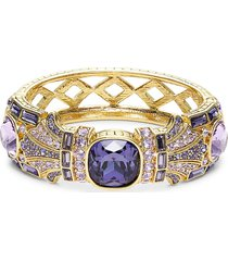 heidi daus women's goldtone & crystal bangle bracelet