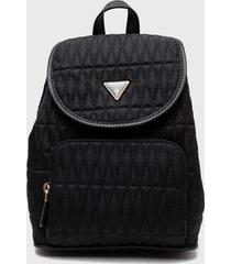 mochila layla backpack negro guess