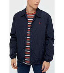 polo ralph lauren coaches unlined jacket jackor navy