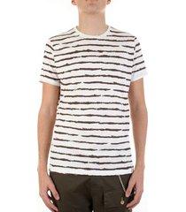 t-shirt korte mouw bicolore bc214