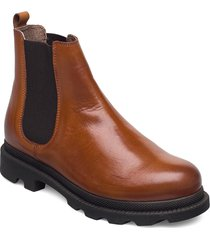 biacyan leather chelsea boot shoes chelsea boots brun bianco