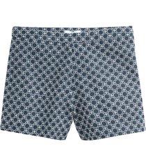 jacquardmönstrade shorts