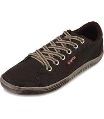 sapatênis spell shoes sp18-101 café