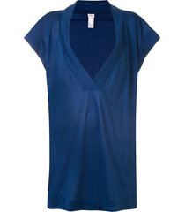 eres renée relaxed dress - blue