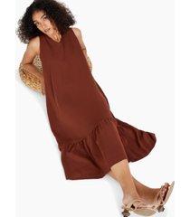alfani ruffled sleeveless dress, created for macy's