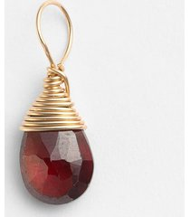 nashelle 14k-gold fill & semiprecious stone charm in garnet at nordstrom