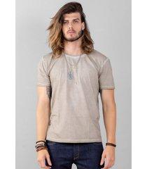 camiseta cafezal original clothing - cáqui
