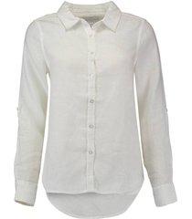 blouse linnen wit