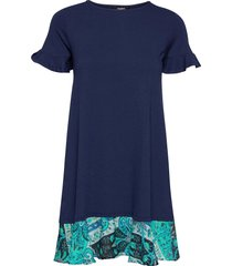 vest kali dresses t-shirt dresses blauw desigual