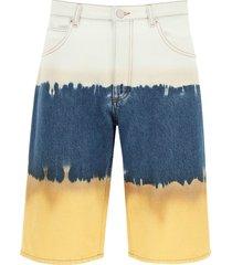 alberta ferretti i love summer tie-dye shorts