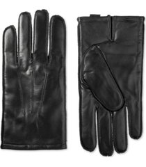 isotoner signature men's thermaflex leather gloves