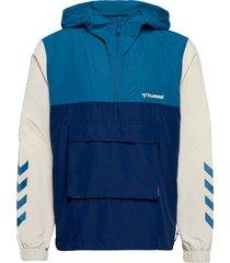 hmlakello loose half zip jacket outerwear jackets anoraks blå hummel