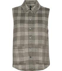 yashella sl waistcoat vests knitted vests grön yas