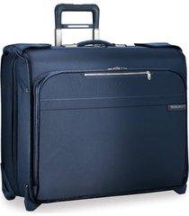 briggs & riley @work medium cargo backpack - blue