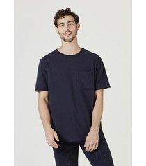 camiseta hering em malha de algodão masculina - masculino