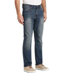 lucky brand 410 arched rock medium wash athletic fit jeans