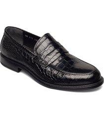 footwear mw - f795 loafers låga skor svart sand