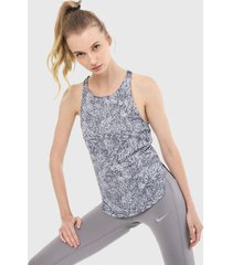 esqueleto gris under armour speed stride printed tank