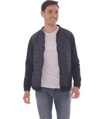 chaqueta para hombre con efecto acolchado x59308