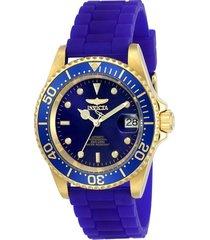 reloj invicta azul modelo 236ia para hombres, colección pro diver